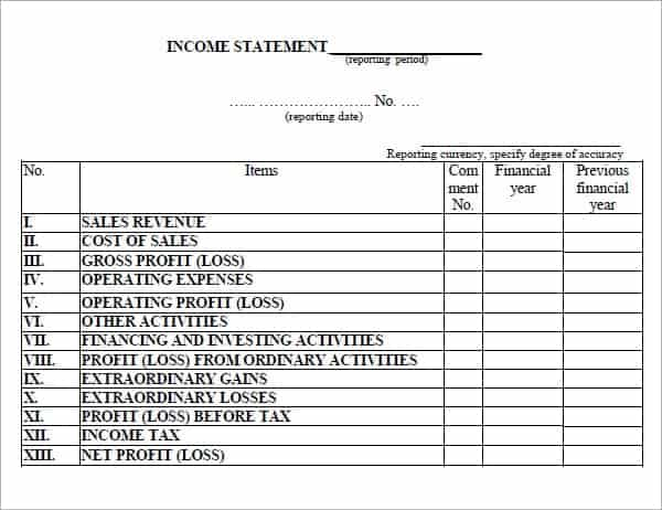 Income statement template image 55