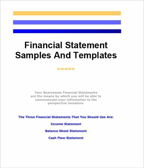 financial statement template image 345