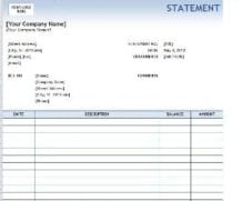 4 Legal Statement Templates