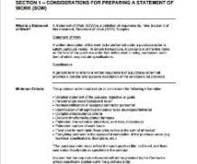 3 Free Statement of work templates